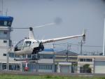 TUILANYAKSUさんが、東京ヘリポートで撮影した日本フライトセーフティ R22 Beta IIの航空フォト(写真)