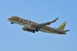 撮り撮り人さんが、岡山空港で撮影したフジドリームエアラインズ ERJ-170-200 (ERJ-175STD)の航空フォト(写真)