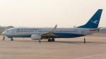 coolinsjpさんが、青島流亭国際空港で撮影した厦門航空 737-85Cの航空フォト(写真)
