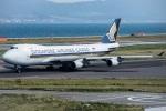 KIX Spotterさんが、関西国際空港で撮影したシンガポール航空カーゴ 747-412F/SCDの航空フォト(写真)