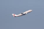 サリーちゃんのパパさんが、羽田空港で撮影した航空自衛隊 747-47Cの航空フォト(写真)
