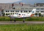 LOTUSさんが、八尾空港で撮影した日本フライングサービス PA-46-310P Malibuの航空フォト(写真)