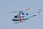 蒼い鳩さんが、新潟空港で撮影した新潟県警察 412EPの航空フォト(写真)