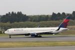 にしやんさんが、成田国際空港で撮影したデルタ航空 767-332/ERの航空フォト(写真)