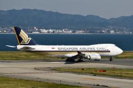 we love kixさんが、関西国際空港で撮影したシンガポール航空カーゴ 747-412F/SCDの航空フォト(写真)