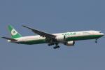 安芸あすかさんが、スワンナプーム国際空港で撮影したエバー航空 777-35E/ERの航空フォト(写真)