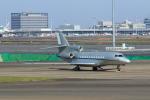 たまさんが、羽田空港で撮影したAlbinati Aviation Ltd Falcon 7Xの航空フォト(写真)
