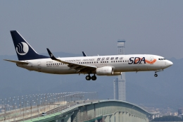 kansai-spotterさんが、関西国際空港で撮影した山東航空 737-85Nの航空フォト(写真)