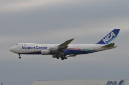 amagoさんが、成田国際空港で撮影した日本貨物航空 747-8KZF/SCDの航空フォト(写真)