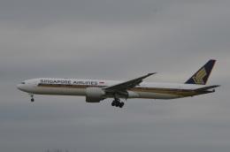 amagoさんが、成田国際空港で撮影したシンガポール航空 777-312/ERの航空フォト(写真)