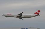 amagoさんが、成田国際空港で撮影したスイスインターナショナルエアラインズ A340-313Xの航空フォト(写真)