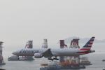 Fly Yokotayaさんが、香港国際空港で撮影したアメリカン航空 777-323/ERの航空フォト(写真)