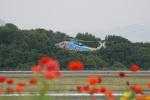 神宮寺ももさんが、高松空港で撮影した香川県警察 S-76Bの航空フォト(写真)