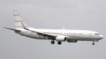誘喜さんが、ロンドン・ヒースロー空港で撮影したケイマン諸島企業所有 737-8DR BBJ2の航空フォト(写真)