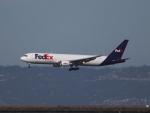 職業旅人さんが、サンフランシスコ国際空港で撮影したフェデックス・エクスプレス 767-3S2F/ERの航空フォト(写真)