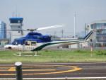 TUILANYAKSUさんが、東京ヘリポートで撮影した北海道防災航空隊 412の航空フォト(写真)