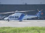 TUILANYAKSUさんが、東京ヘリポートで撮影したオールニッポンヘリコプター AW139の航空フォト(写真)