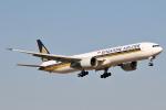 panchiさんが、成田国際空港で撮影したシンガポール航空 777-312/ERの航空フォト(写真)