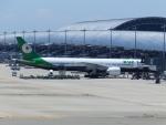 いおんさんが、関西国際空港で撮影したエバー航空 777-3SH/ERの航空フォト(写真)