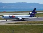 いおんさんが、関西国際空港で撮影したフェデックス・エクスプレス MD-11Fの航空フォト(写真)