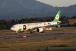 デウスーラ294さんが、小松空港で撮影したエバー航空 A330-302Xの航空フォト(写真)