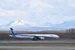 くーぺいさんが、新千歳空港で撮影した全日空 777-381の航空フォト(写真)