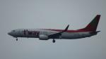 SVMさんが、関西国際空港で撮影したティーウェイ航空 737-8Q8の航空フォト(写真)