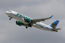 LAX Spotterさんが、ロサンゼルス国際空港で撮影したフロンティア航空 A320-251Nの航空フォト(写真)