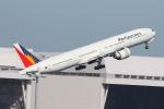 サリーちゃんのパパさんが、羽田空港で撮影したフィリピン航空 777-3F6/ERの航空フォト(写真)
