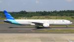 Keitaro Narushimaさんが、成田国際空港で撮影したガルーダ・インドネシア航空 777-3U3/ERの航空フォト(写真)