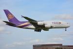 SKY☆101さんが、成田国際空港で撮影したタイ国際航空 A380-841の航空フォト(写真)