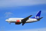 蒲田賢二さんが、ロンドン・ヒースロー空港で撮影したスカンジナビア航空 737-683の航空フォト(写真)