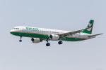 Y-Kenzoさんが、成田国際空港で撮影したエバー航空 A321-211の航空フォト(写真)