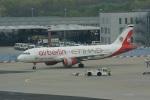 ガペ兄さんが、フランクフルト国際空港で撮影したエア・ベルリン A320-214の航空フォト(写真)