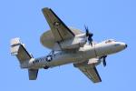 なごやんさんが、厚木飛行場で撮影したアメリカ海軍 E-2D Advanced Hawkeyeの航空フォト(写真)