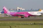 bb212さんが、成田国際空港で撮影したピーチ A320-214の航空フォト(写真)