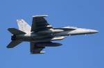 なごやんさんが、厚木飛行場で撮影したアメリカ海軍 EA-18G Growlerの航空フォト(写真)