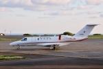 じーのさんさんが、八丈島空港で撮影した国土交通省 航空局 525C Citation CJ4の航空フォト(写真)