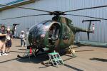Wasawasa-isaoさんが、霞ヶ浦飛行場で撮影した陸上自衛隊 OH-6Dの航空フォト(写真)