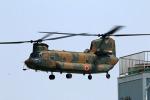 Wasawasa-isaoさんが、霞ヶ浦飛行場で撮影した陸上自衛隊 CH-47Jの航空フォト(写真)