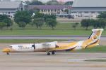 安芸あすかさんが、ドンムアン空港で撮影したノックエア DHC-8-402Q Dash 8の航空フォト(写真)