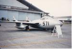 うすさんが、浜松基地で撮影した航空自衛隊 DH.115 Vampire T55の航空フォト(写真)