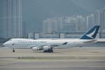 JA8037さんが、香港国際空港で撮影したキャセイパシフィック航空 747-467F/ER/SCDの航空フォト(写真)