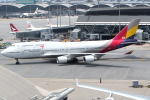 KAW-YGさんが、香港国際空港で撮影したアシアナ航空 747-48Eの航空フォト(写真)
