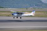 神宮寺ももさんが、高松空港で撮影した本田航空 172S Skyhawk SPの航空フォト(写真)