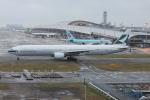 Koenig117さんが、関西国際空港で撮影したキャセイパシフィック航空 777-367の航空フォト(写真)