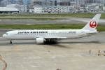 RJBB Spotterさんが、福岡空港で撮影した日本航空 767-346/ERの航空フォト(写真)
