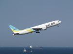 なみくしさんが、羽田空港で撮影したAIR DO 767-381の航空フォト(写真)