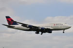 Orange linerさんが、成田国際空港で撮影したデルタ航空 747-451の航空フォト(写真)
