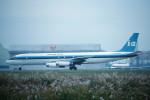トロピカルさんが、成田国際空港で撮影したインターステート・エアラインズ DC-8-62(F)の航空フォト(写真)